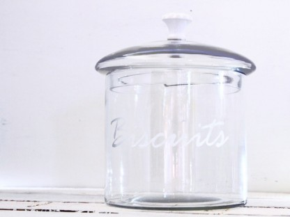 "Contenitore country chic decorativo ""biscotti"""