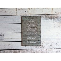 Insegna note musicali vintage shabby