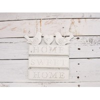 "Insegna uccellini ""home sweet home"""