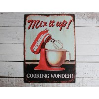 "Insegna vintage country ""mix it up"""