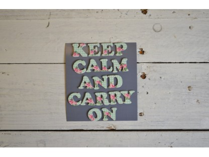 "Magneti ""keep calm and carry on"""