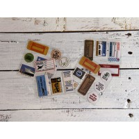 Scrapbooking mix stickers viaggiatori